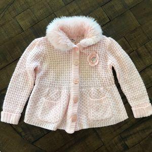 Pink kids sweater